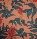 Lady McElroy Tropical Stems Stretch Cotton Twill