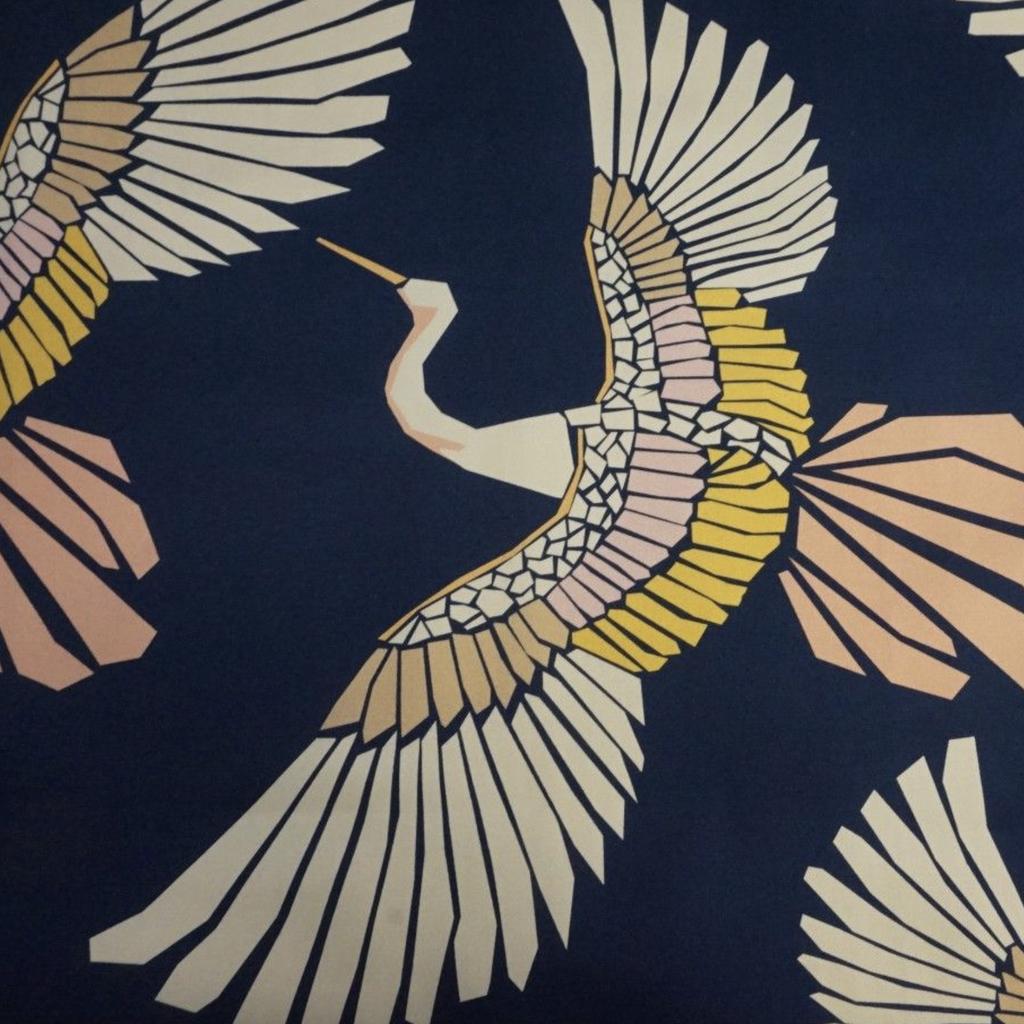 Lady McElroy Marabou Mosaic - Multi 97% Cotton 3% Spandex