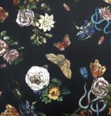 Lady McElroy Cobra Corsage - Black - Samba Crepe Knit Poly/Spandex