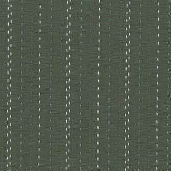 Diamond Textiles Nikko Geo Green Sashiko Lines