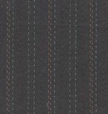 Diamond Textiles Nikko Geo Dark Grey Sashiko Lines