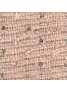 Diamond Textiles Nikko Dusty Rose Dots
