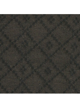 Diamond Textiles Nikko Dark Brown / Black Diamonds