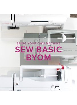 Iris Asher Sew Basic, BYOM (Bring your own machine!) Alberta St. Store, Tuesday, December 17, 6-8:30pm