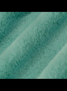 "Shannon Fabrics Luxe Cuddle Seal  Aqua 58"""