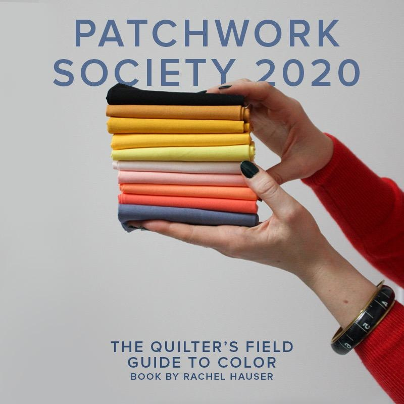 Modern Domestic 2020 Modern Domestic Patchwork Society Annual Membership, Lake Oswego Store, Third Tuesday monthly, 10am - 12pm