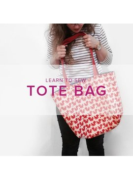 Karin Dejan CLASS FULL Learn to Sew: Lined Tote Bag, Alberta Store, Wednesday, February 12, 6-9pm