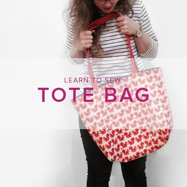 Karin Dejan Learn to Sew: Lined Tote Bag, Alberta Store, Wednesday, February 12, 6-9pm