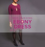 Karin Dejan Ebony Dress, Lake Oswego Store, Tuesdays, February 11, 18, & 25, 6-9pm
