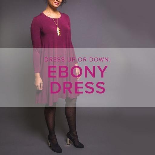 Karin Dejan Ebony Dress, Alberta St Store, Saturday, March 14, 21, & 28, 2-5pm