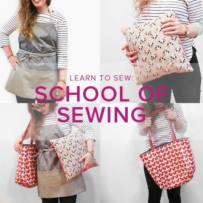 Karin Dejan CLASS FULL Learn to Sew: School of Sewing, Alberta St. Store, Wednesdays, February 26, March 4, 11, & 18, 6-8:30pm