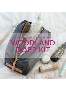 Karin Dejan Woodland Dopp Kit, Alberta St Store, Saturday, February 22, 2-5pm