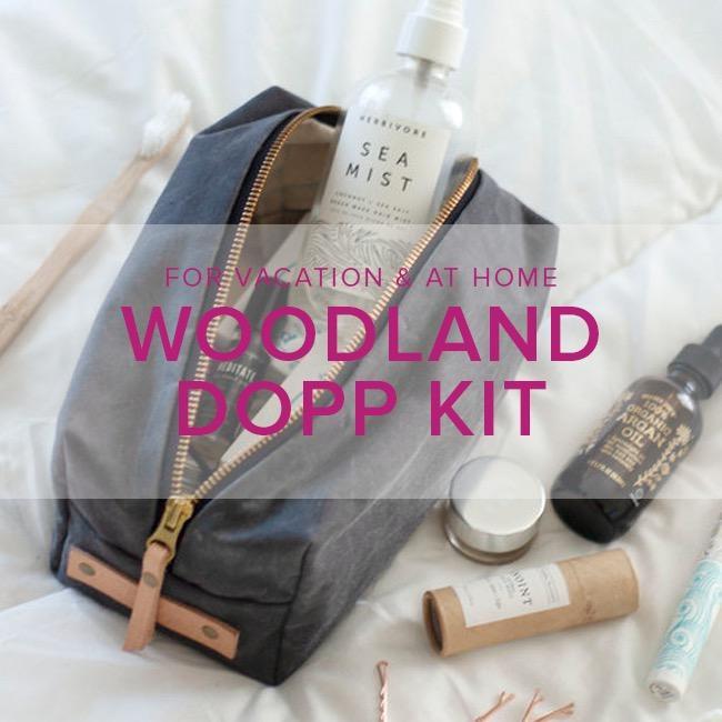 Karin Dejan Woodland Dopp Kit, Alberta St Store, Saturday, February 22, 2-5pm