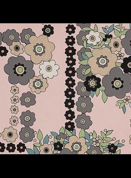 Alexander Henry A Ghastli Bouquet/Pale Pink by Alexander Henry