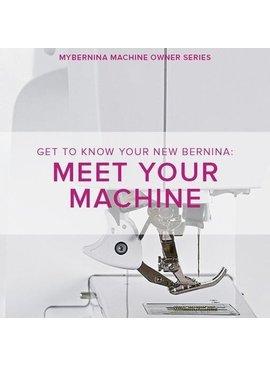 Modern Domestic MyBERNINA: Class #1, Meet Your Machine, Lake Oswego Store, Monday, January 6, 10:30am-12:30pm