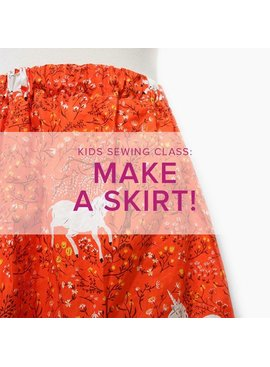 Cath Hall Kids Sewing Class: Make a Skirt,  Alberta St. Store, Saturday, March 7, 2-5pm