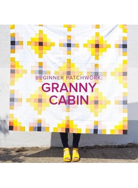 Rebekah Fink Beginner Patchwork: Granny Cabin Quilt, Alberta St Store,  Mondays, March 30, April 6, 13, & 20, 6-8:30pm