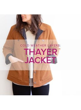 Jeanine Gaitan Thayer Jacket, Alberta St Store, Tuesdays, March 17, 24, 31, & April 7, 6-9pm