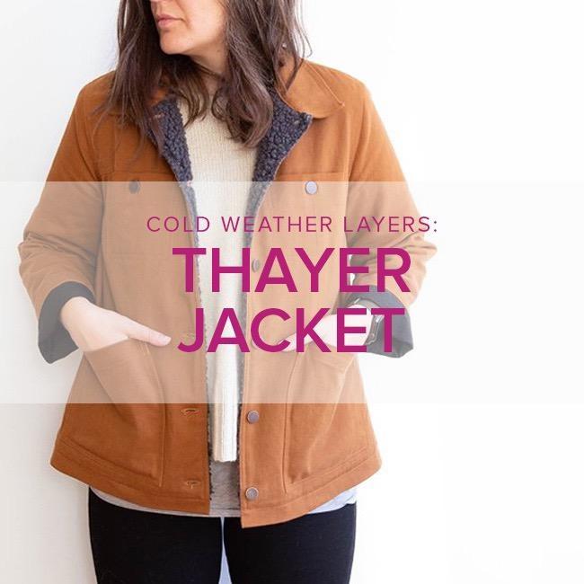 Jeanine Gaitan Thayer Jacket, Alberta St Store, Tuesdays, March 17, 24, 31, & April 7, 6-9pm