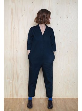 The Assembly Line Patterns V-Neck Jumpsuit pattern by The Assembly Line Patterns