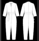 The Assembly Line Patterns V-Neck Jumpsuit pattern by The Assembly Line Patterns