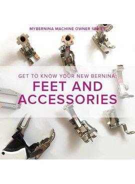 Modern Domestic MyBERNINA: Class #2 Feet & Accessories, Lake Oswego Store, Sunday, January 26, 10:30am-12:30pm