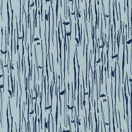 Robert Kaufman Driftless by Anna Graham Dusty Blue