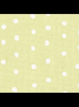 Seven Islands Nani Iro Double Gauze: Pocho Dots Pearl