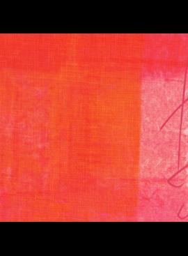 Kokka Nani Iro Linen Sheeting: Pipple Orange/Pink