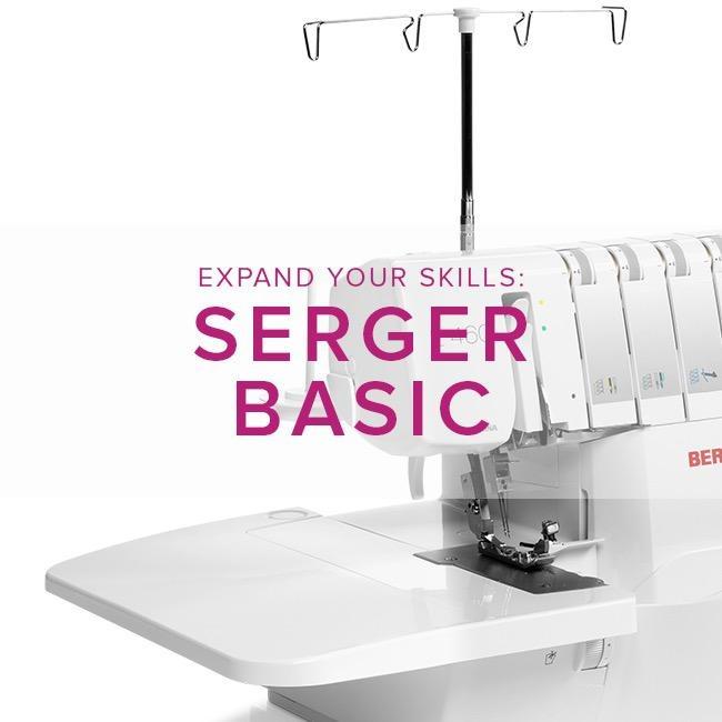 Modern Domestic MyBERNINA Serger Basic, Lake Oswego Store, Saturday, February 15, 2-4pm