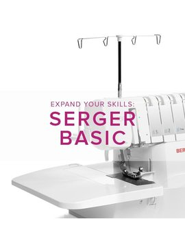 Modern Domestic MyBERNINA Serger Basic, Alberta St Store, Monday, February 17, 10am-12pm