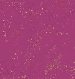 Ruby Star Society Speckled by Rashida Coleman Hale for Ruby Star Metallic Berry