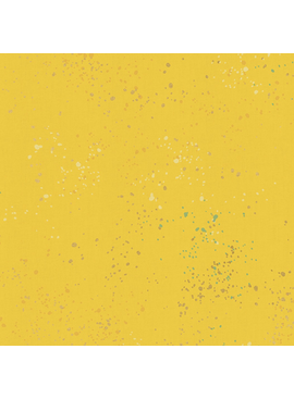 Ruby Star Society Speckled by Rashida Coleman Hale for Ruby Star Metallic Sunshine