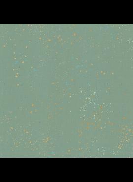 Ruby Star Society Speckled by Rashida Coleman Hale for Ruby Star Metallic Soft Aqua