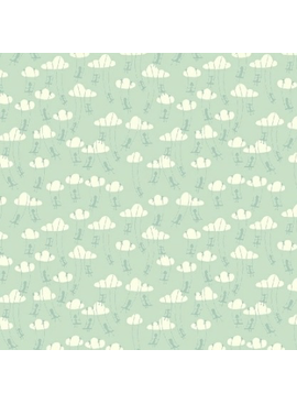Windham Fabrics Playground by Dylan Mierzwinski Cloud Swinging Tiffany