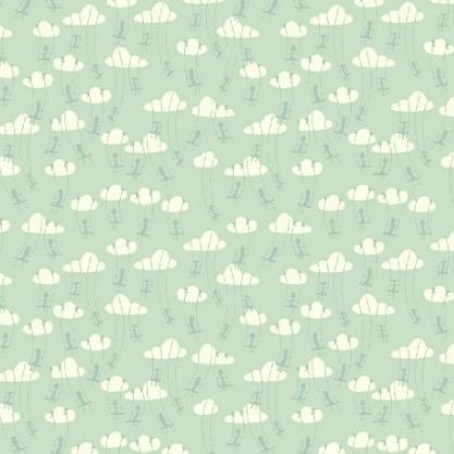 Windham Fabrics Playground by Dylan Mierzwinski Cloud Swinging Tiffany