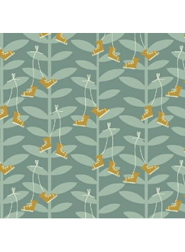Windham Fabrics Playground by Dylan Mierzwinski Beanstalk Tiffany