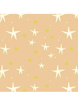 Windham Fabrics Playground by Dylan Mierzwinski Starry Peach