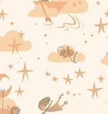 Windham Fabrics Playground by Dylan Mierzwinski Among the Stars Peach