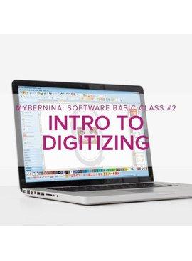 Modern Domestic MyBERNINA: Machine Embroidery Software Basic - Class #2: Intro to Digitizing, Lake Oswego Store, Monday, March 9, 2-4pm