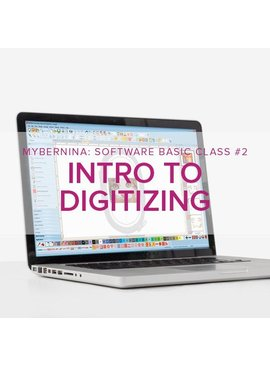 Modern Domestic MyBERNINA: Machine Embroidery Software Basic - Class #2: Intro to Digitizing, Alberta St Store, Saturday, March 21, 11am-1pm