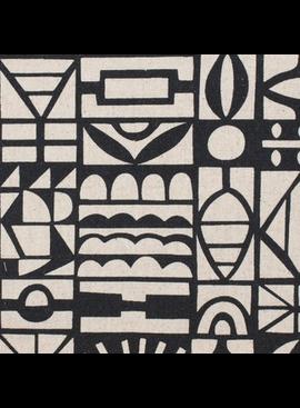 Kokka Paper by Ellen Baker: Papercut Black