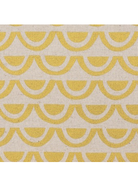 Kokka Paper by Ellen Baker: Bridges Gold Metallic