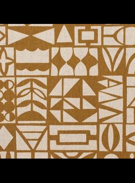 Kokka Paper by Ellen Baker: Papercut Ochre