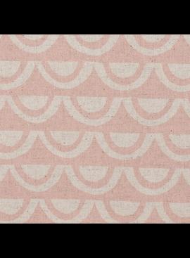 Kokka Paper by Ellen Baker: Bridges Pink