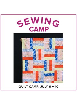 Cath Hall Kids Sewing Camp: Make a Quilt! Alberta St Store, Monday-Friday, July 6-10, 9am-12pm