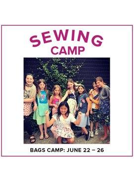 Cath Hall Kids Sewing Camp: Bags!, Lake Oswego Store, Monday - Friday, June 22-26, 9am-12pm
