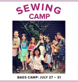Cath Hall Kids Sewing Camp: Bags!, Lake Oswego Store, Monday - Friday, July 27-31, 9am-12pm