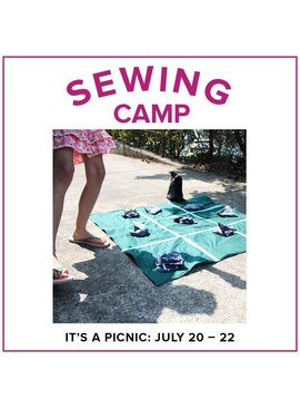 Rebekah Fink Kids Sewing Camp: It's a Picnic! Alberta St Store, Monday - Wednesday, July 20-22, 9am-12pm