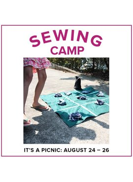 Rebekah Fink Kids Sewing Camp: It's a Picnic! Alberta St Store, Monday - Wednesday, August 24-26, 9am-12pm